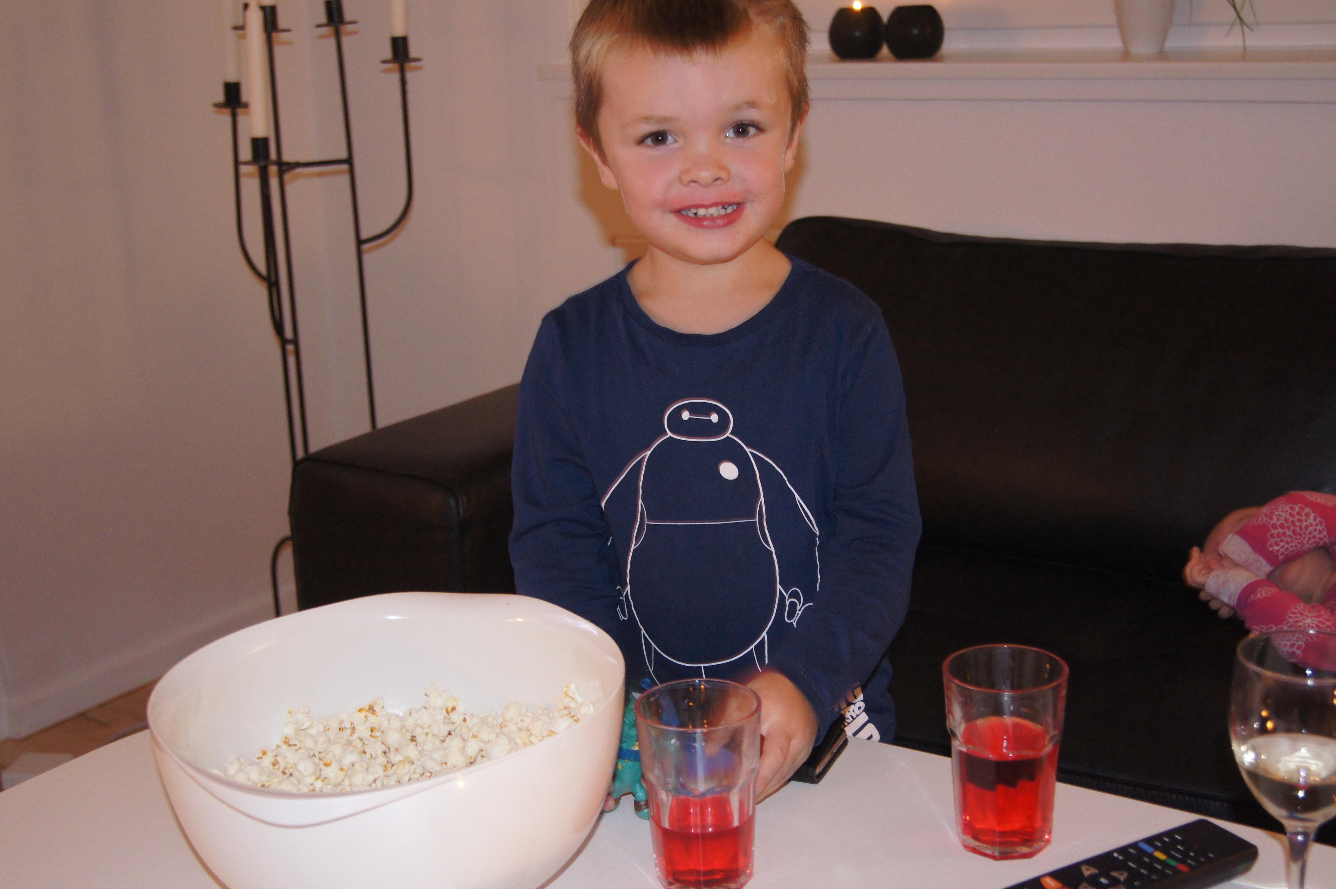 Popcorn er glæden